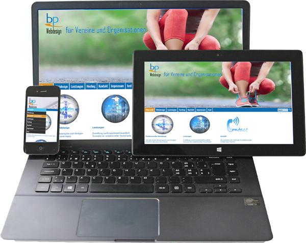 BP-Webdesign - responsive Webdesign